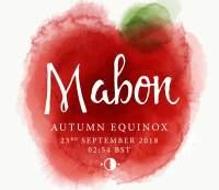Mabon, Autumn Equinox - 23rd September 2018