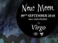 New Moon in Virgo - 9th September 2018
