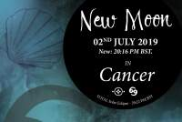 New Moon in Cancer – 02nd July 2019 + Total Solar Eclipse